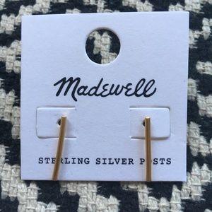 Madewell Bar Earrings
